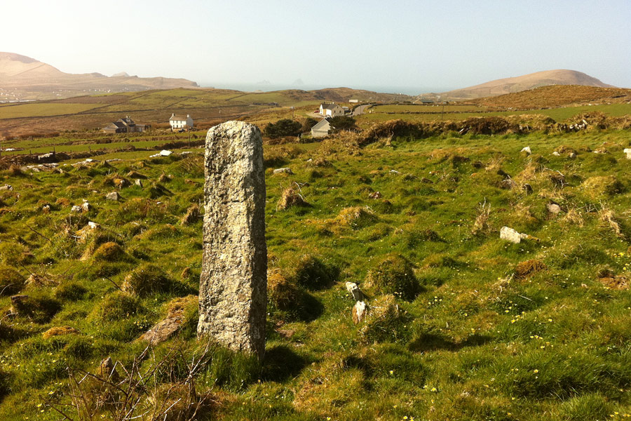 Ogham Stone Valentia Island