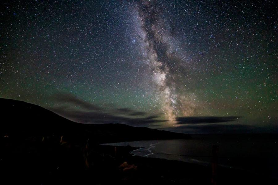 Milky Way from Kerry Dark Sky Reserve